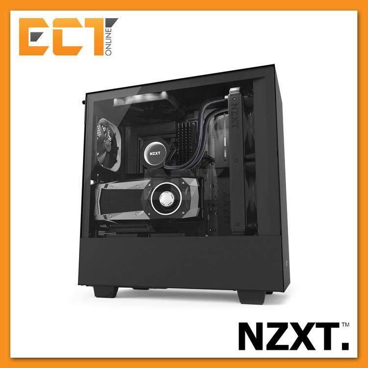 NZXT H500i Full Tempered Glass ATX Gaming Casing Chassis (Black/White/Red) Malaysia