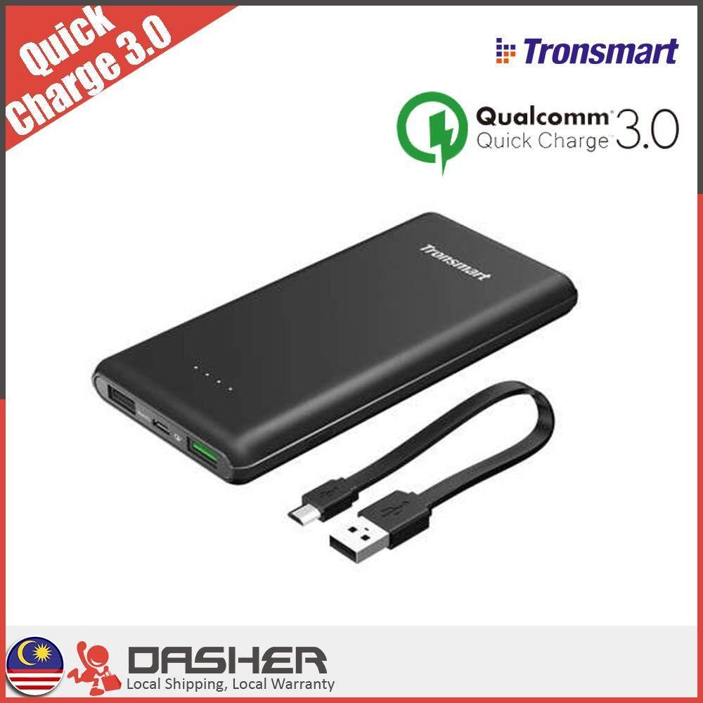 Tronsmart Presto PBT10 10000mAh Ultra Slim Power Bank QC3.0 With Huawei FCP Fast Charging