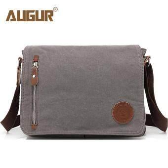 7ebcc9556e9 Paling murah AUGUR Vintage Style Men s Messenger Bag High-qualtiy Canvas  Crossbody Bag Fashion Travel Bag School Bag Briefcase for Men kajian semula  - Hanya ...