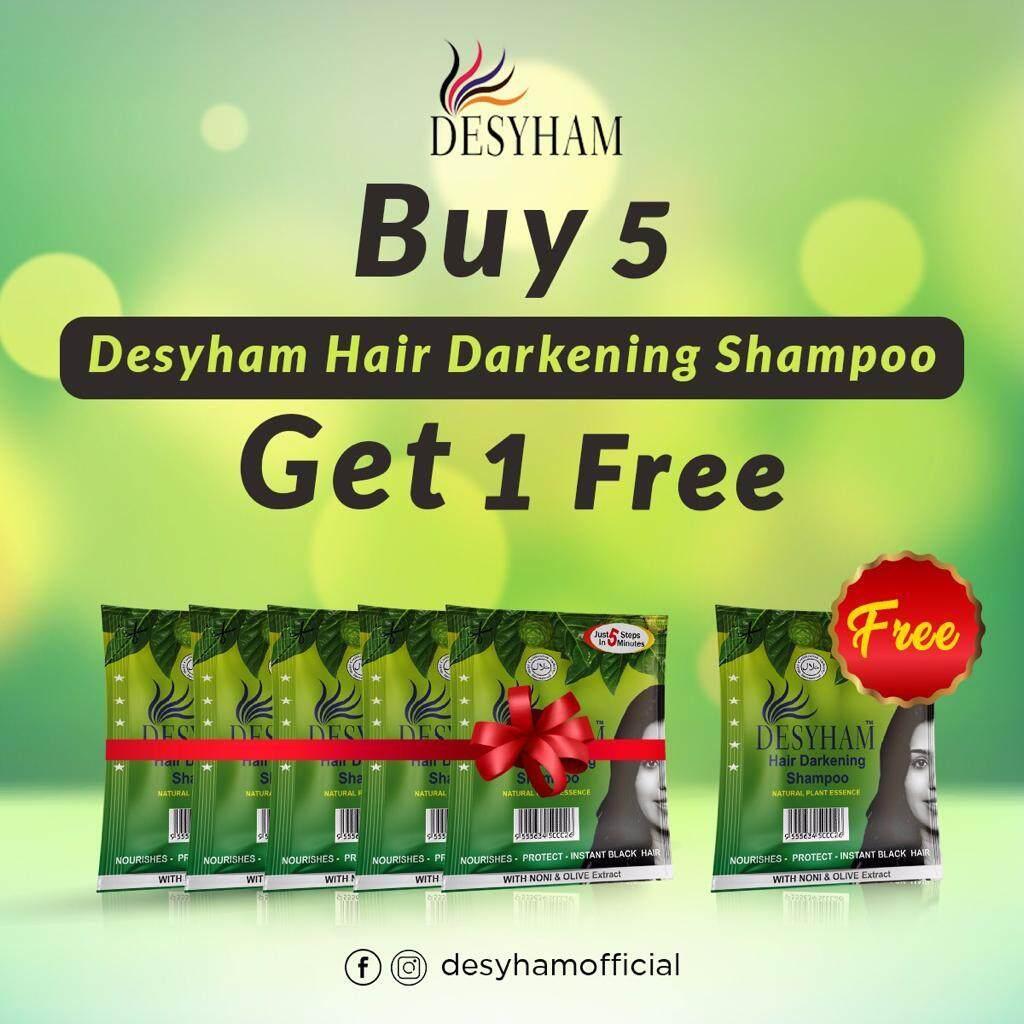 Bsy Noni Shampoo Black Original 5 Sachet Daftar Harga Terlengkap Bpom Shampo Desyham Hair Darkening With Free Conditioner Balancing 3 In 1