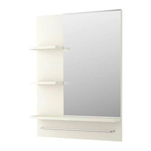 Ikea Lillangen Mirror White 60x11x78 Cm