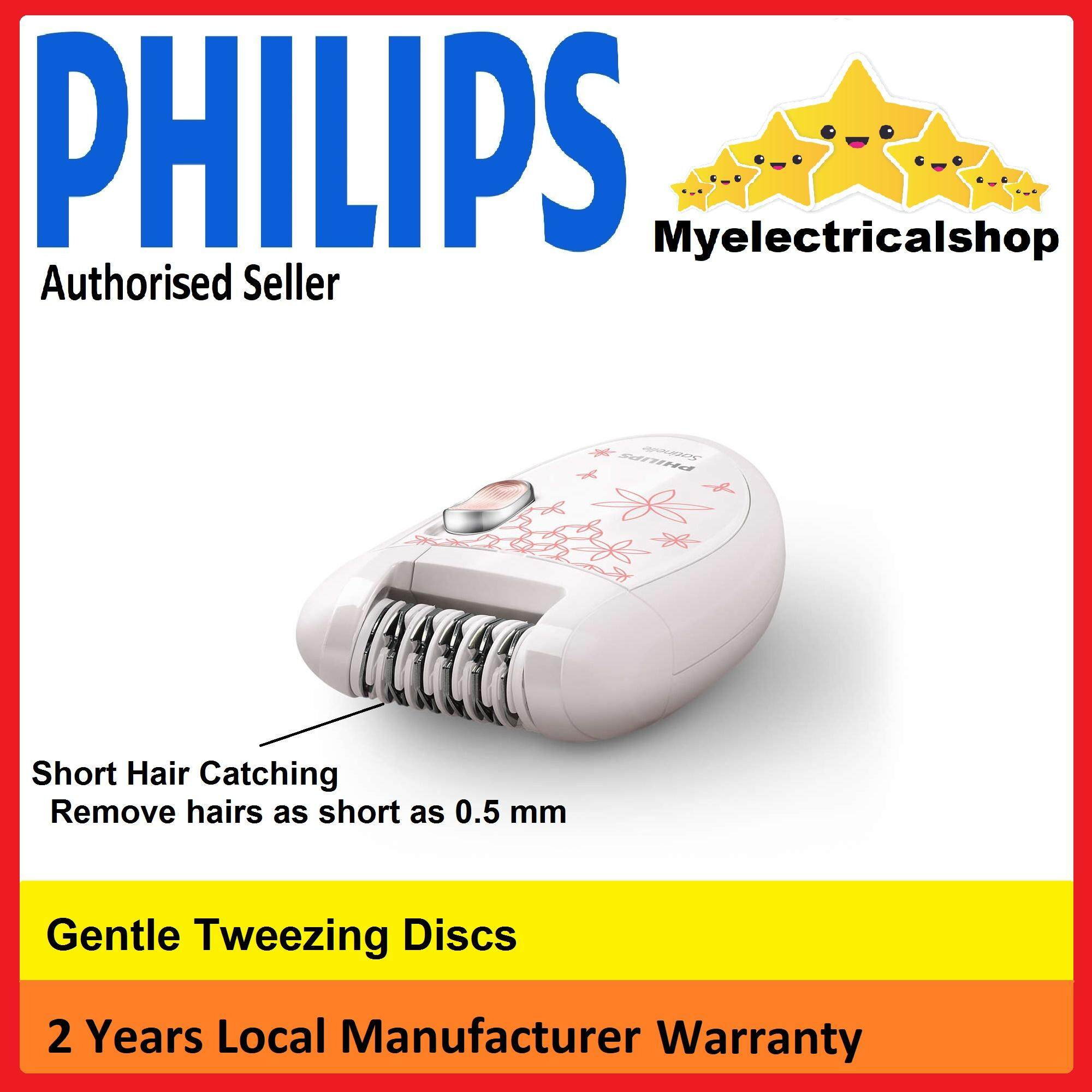 Philips Beauty Tools Hair Removal Appliances Price In Malaysia Epilator Hp 6420 Satinelle Compact Hp6420 00 Myelectricalshop