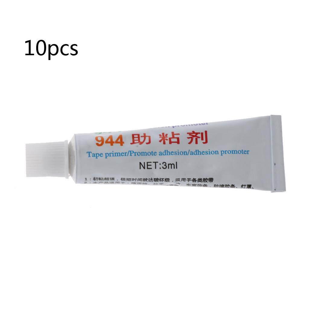 10Pc 944 Tape Adhesion Promoter Car Mirror Stick Glue Primer Vinyl Wrap Adhesive