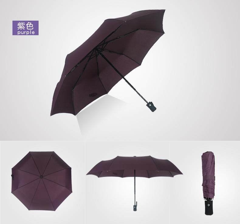 Umbrella Automatic Open Close Foldable Rain Umbrella For Men And Women By Cozy_eyewear.
