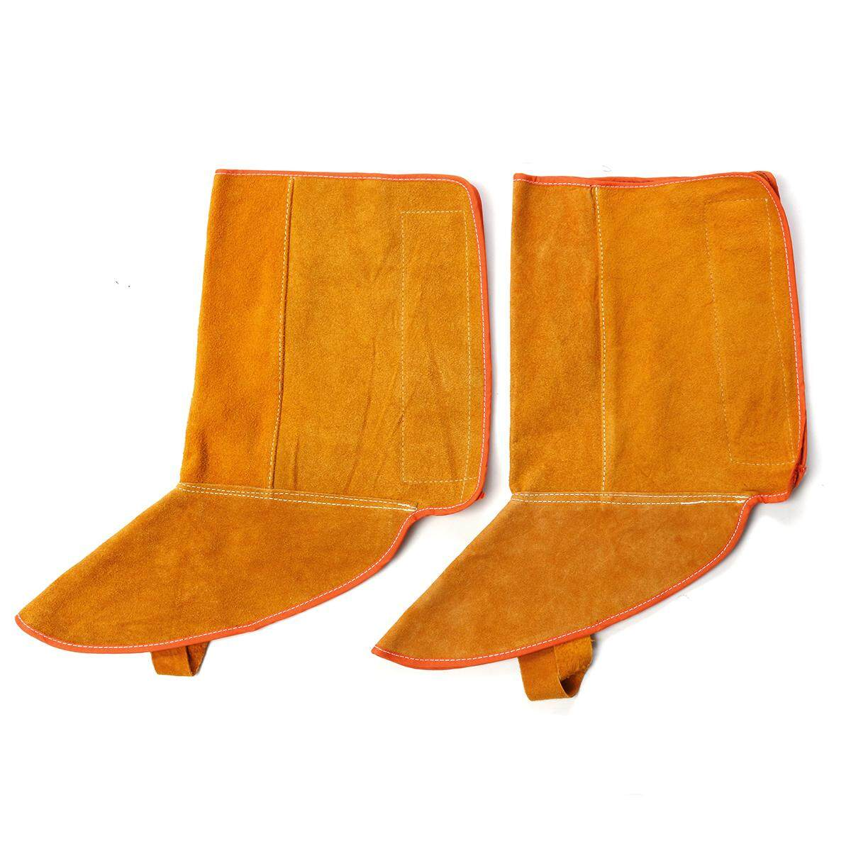 8.3Inch Cowhide Leather Welding Feet Protection Shoe Sleeve Welder Boot Protectors