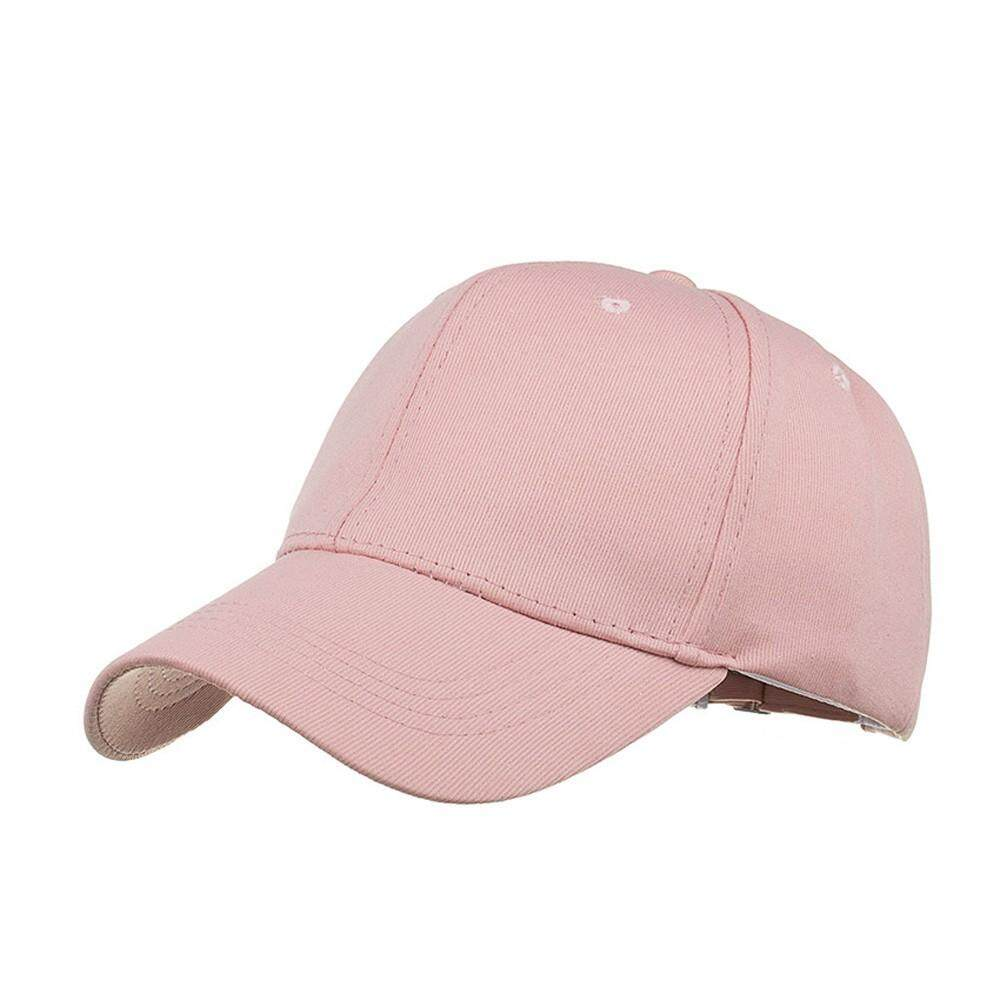 05b620b4c826f Qusaystore Fashion Women Men Adjustable Summer Solid Glitter Cap Hats  Baseball Hat Shade
