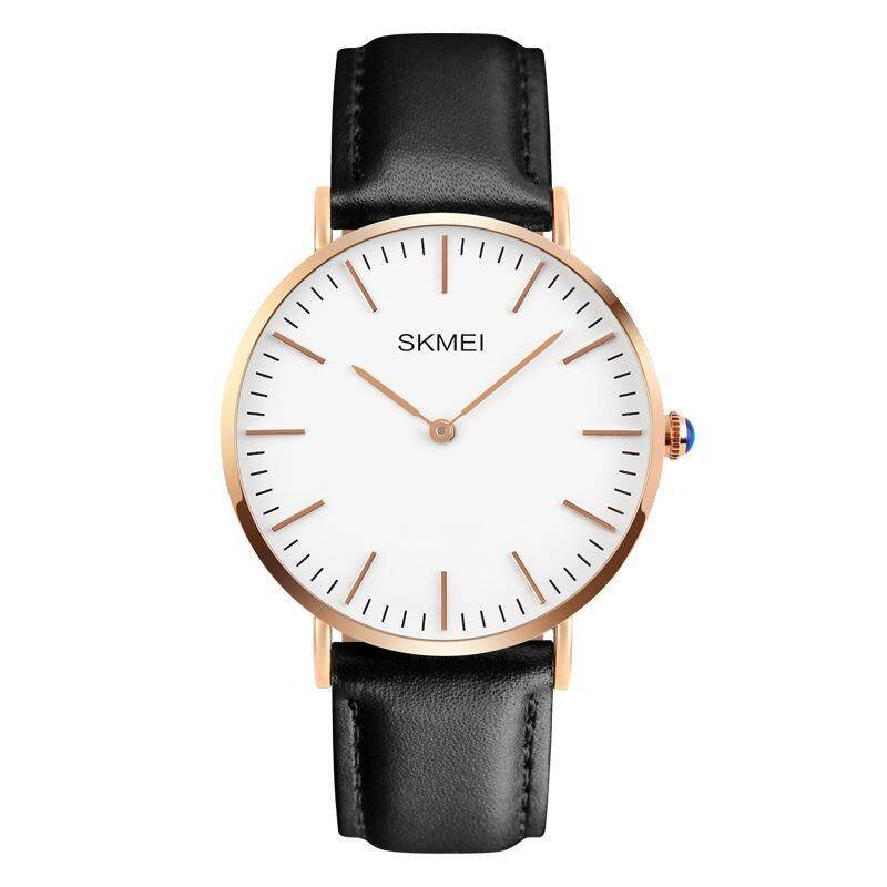 Fashion Leather Mens Quartz Analog Watch Business Watches Couple Watch Malaysia