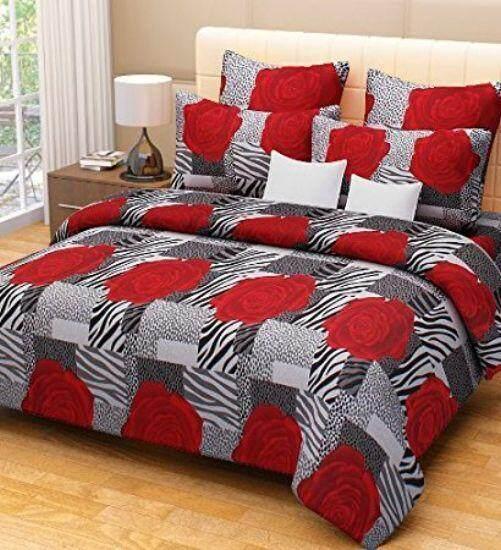 100% Cotton Queen Size Bed Sheet Suitable For Mattress 190cmx153cmx26cm  Good Quality (vouchers Are
