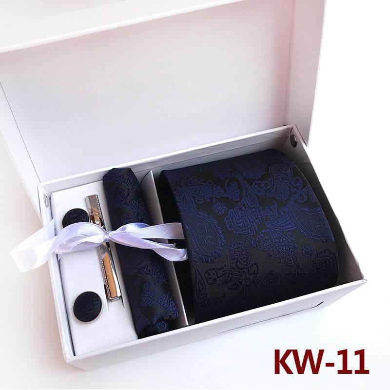 100% Silk New Arrival Classic Paisley Men Neck Tie Set Formal Wear Necktie For Men Fkw11 By Lingho Belt.