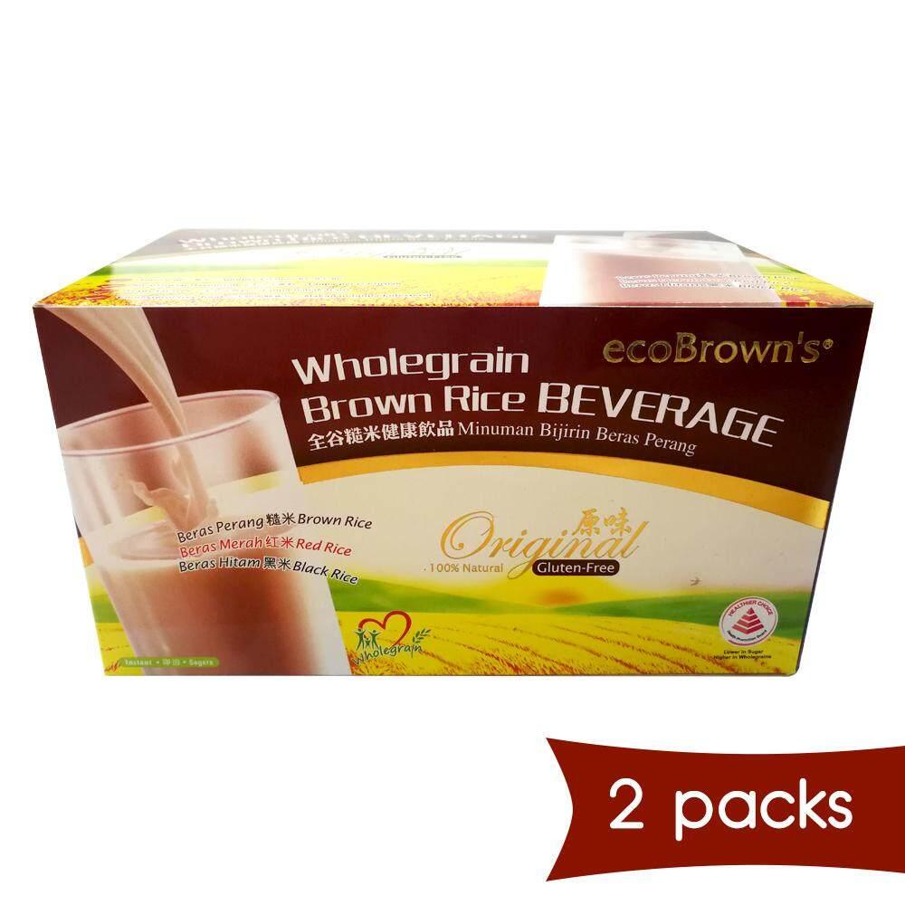ecoBrown Wholegrain Rice Beverage (x2)