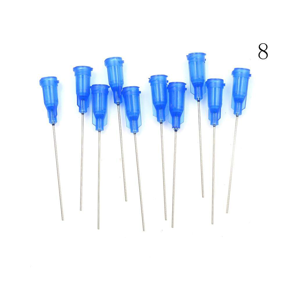 10pcs Precision Dispensing Needles Tips Tool For Glue Liquid Dispenser