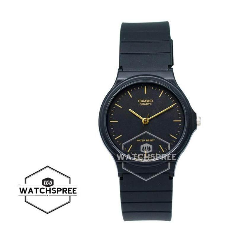 Casio Standard Analog Black Resin Band Watch MQ24-1E MQ-24-1E Malaysia