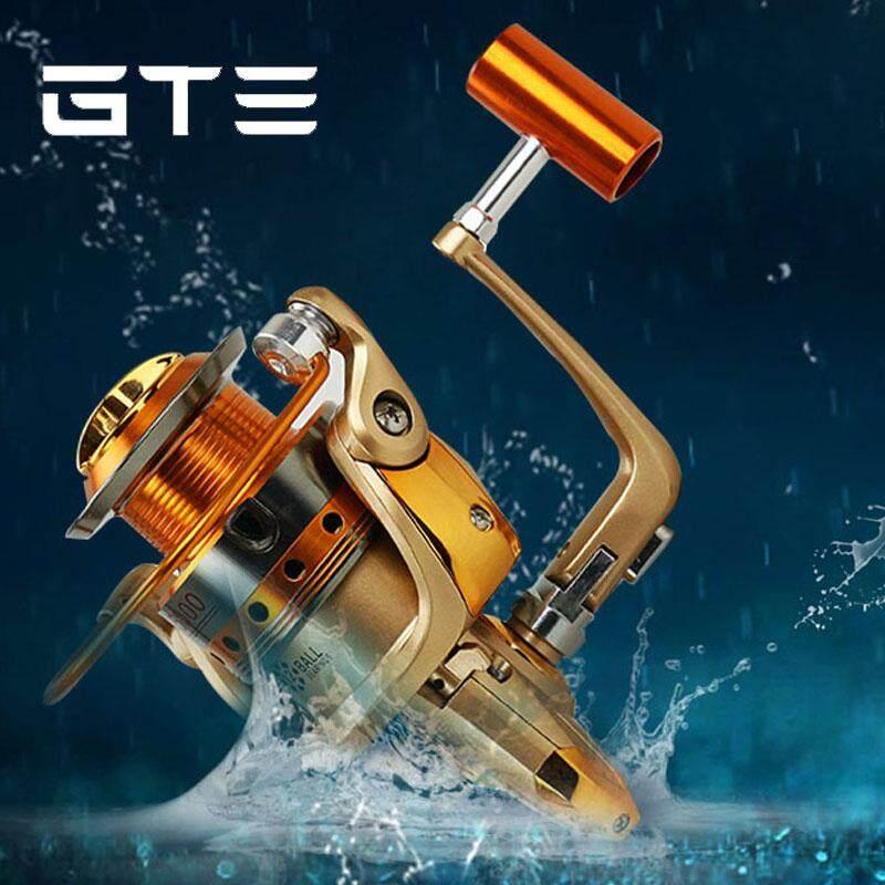 GTE Yumoshi HF6000 Various Model Fishing Line Reel Round All-Metal Wire Cup  Reel Fishing Reel Full Metal Rocker Spinning Reel - Fulfilled By GTE SHOP