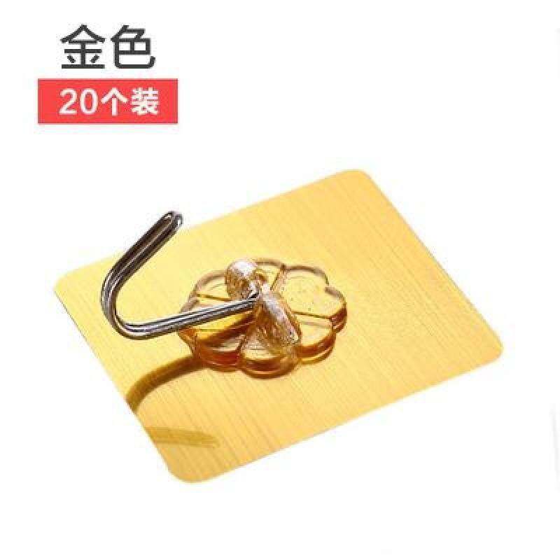 Hook Qanl Load-Bearing Hook Bathroom Coat And Cap-Free Punched Hook Seemless Adhesive Door Hanging Sucker Wall Hangers