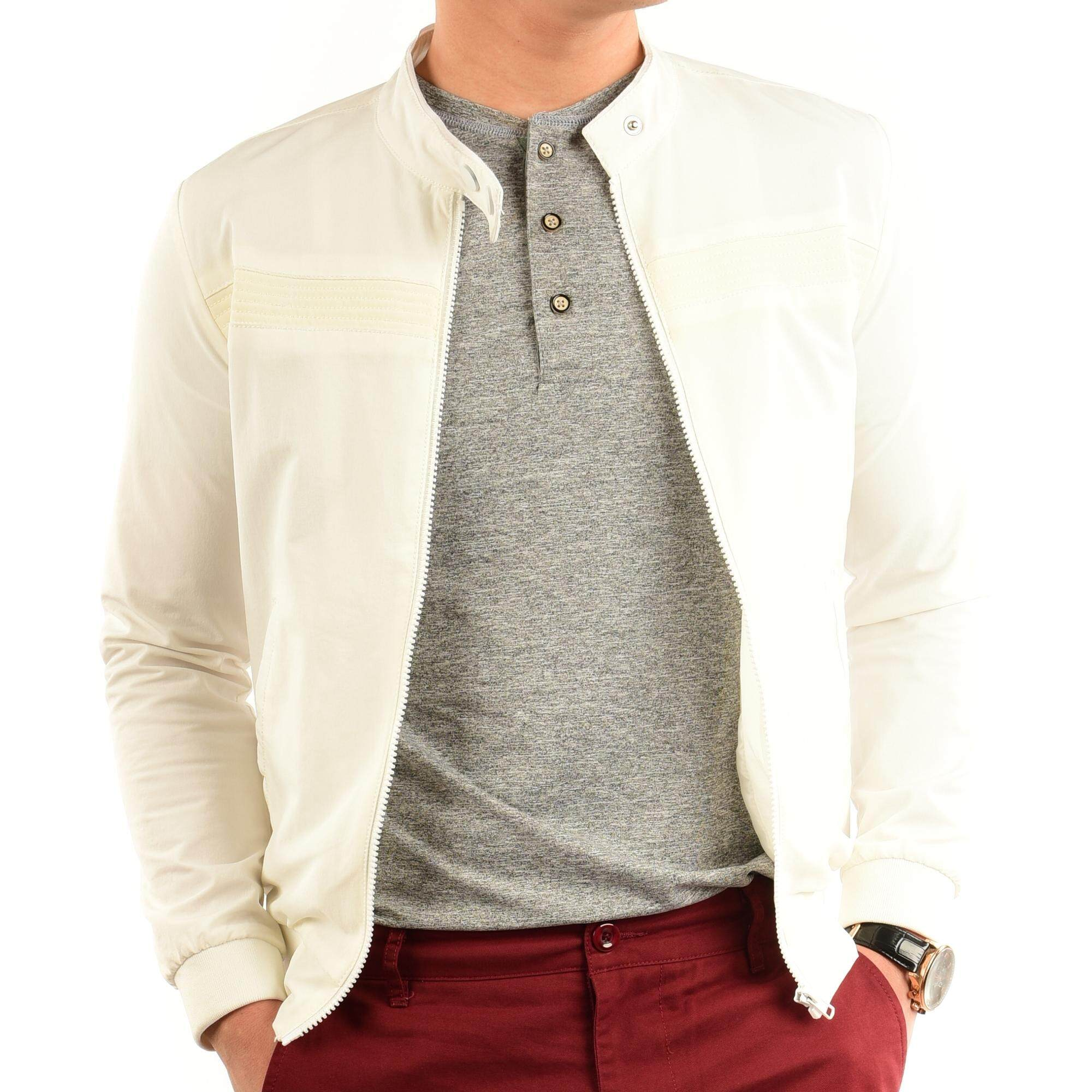 DEES Men Stylish Bomber Jacket