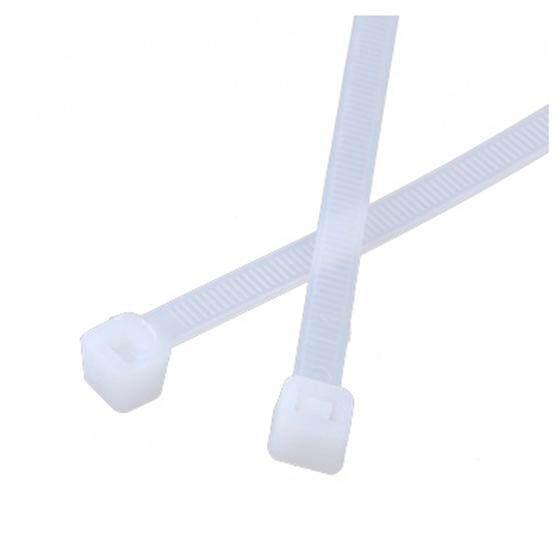 white plastic cable ties Zip straps 7.6 x 300mm