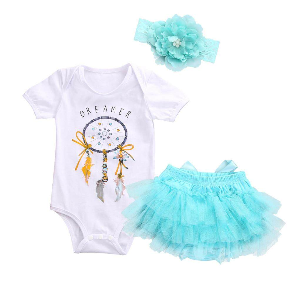 Clothing Accessories For The Best Prices In Malaysia I Am Cotton Sleeveless Romper Blue Sea Radocie Newborn Baby Girl Dreamcatcher Tutu Skirt Tulle Outfits Clothes 3pcs Set