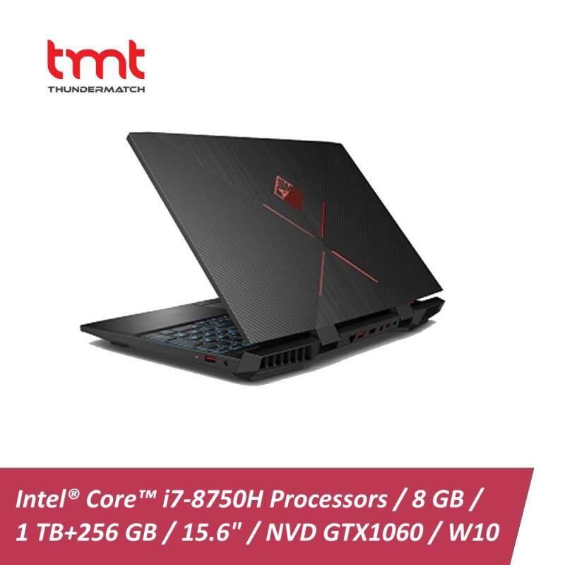 HP Omen 15-dc0126TX Laptop | i7-8750H | 8GB | 1TB + 256GB | 15.6 | NVD GTX1060 | W10 - Black Malaysia