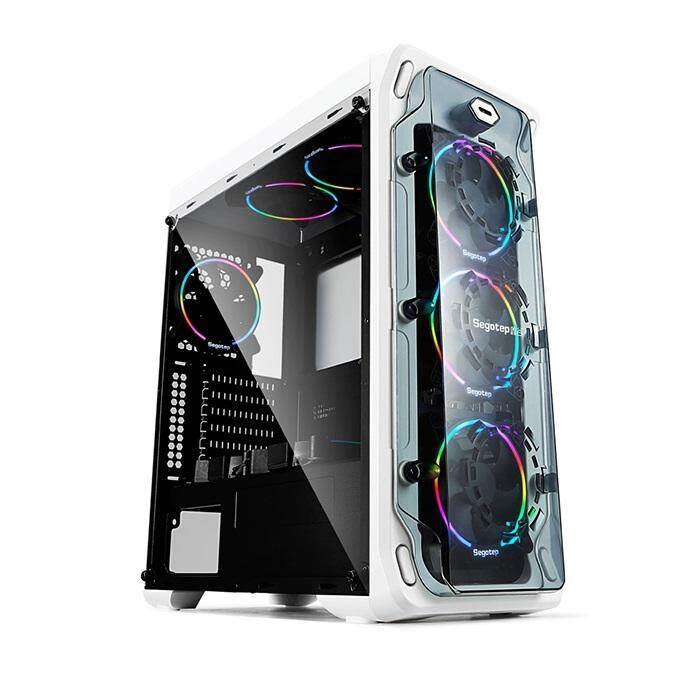 [CAS]Segotep Lux II Mid Tower ATX Case - White Malaysia