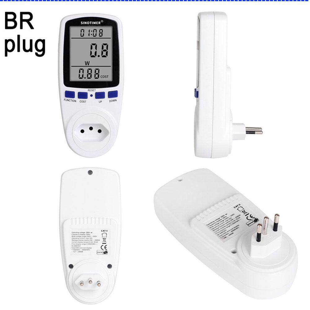 Star Mall Digital Power Energy Saving Monitor Consumption Cost Electricity Analyzer Smart Socket