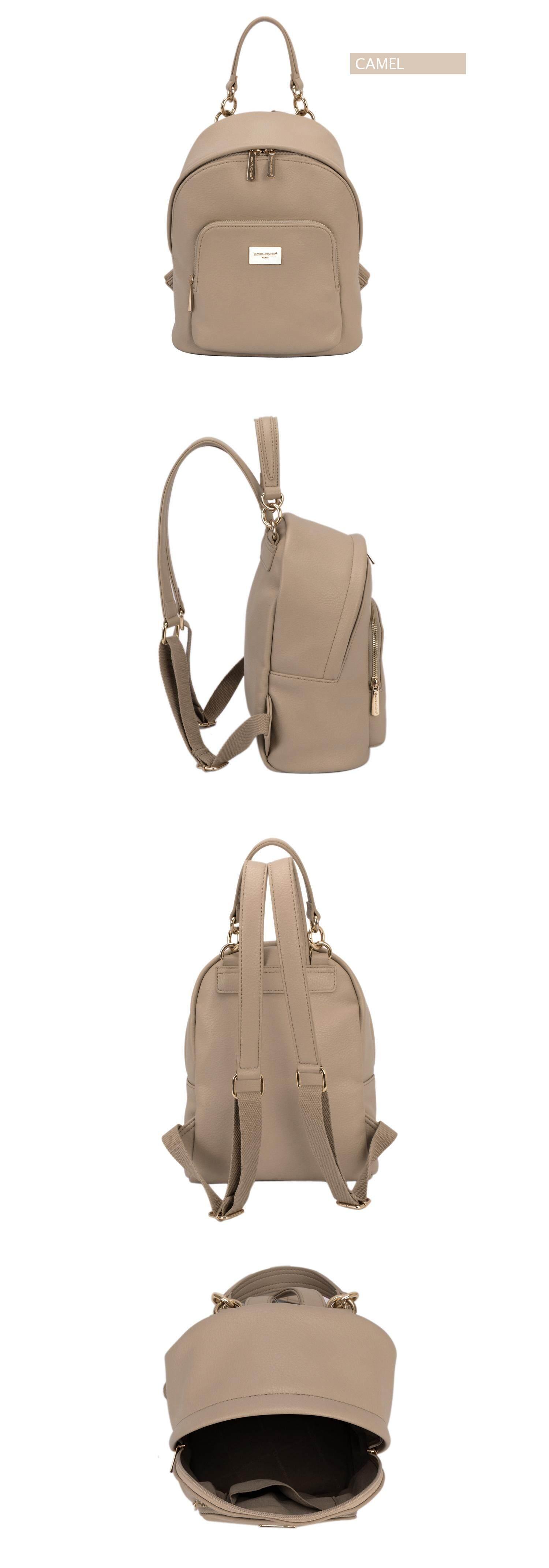 Specifications of DAVIDJONES women backpack pu leather female shoulder bag large spring plain lady back bag girl summer brand book bag free shipping stock ...