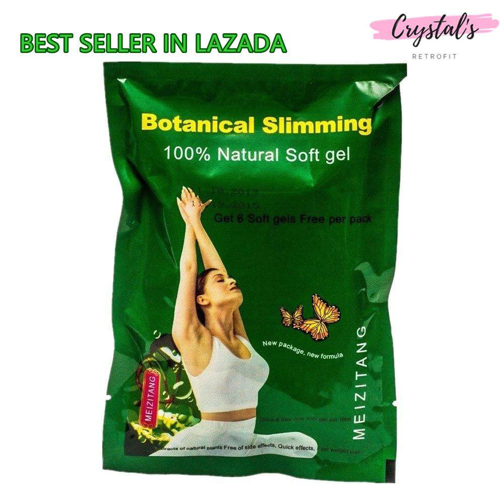 Original Meizitang Botanical Slimming Soft Gel - Mzt (36 Capsules/pack) [lazada 4 Years Best Seller] Quick Lose Weight Effects / Extracts Of Natural Plants 美姿堂减肥胶囊30粒+6粒 ~ Crystals Retrofit By Crystals Retrofit.