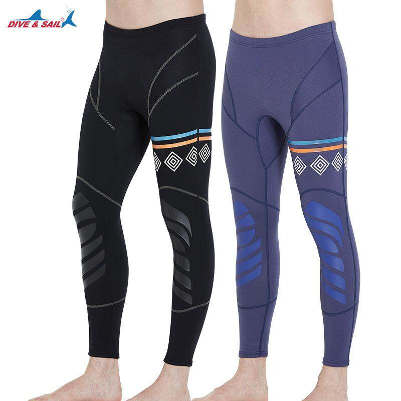 821fcf6b1a Dive Sail 1.5MM Men Neoprene Diving Ankle-length Pants Diving Snorkeling  Surfing Trousers