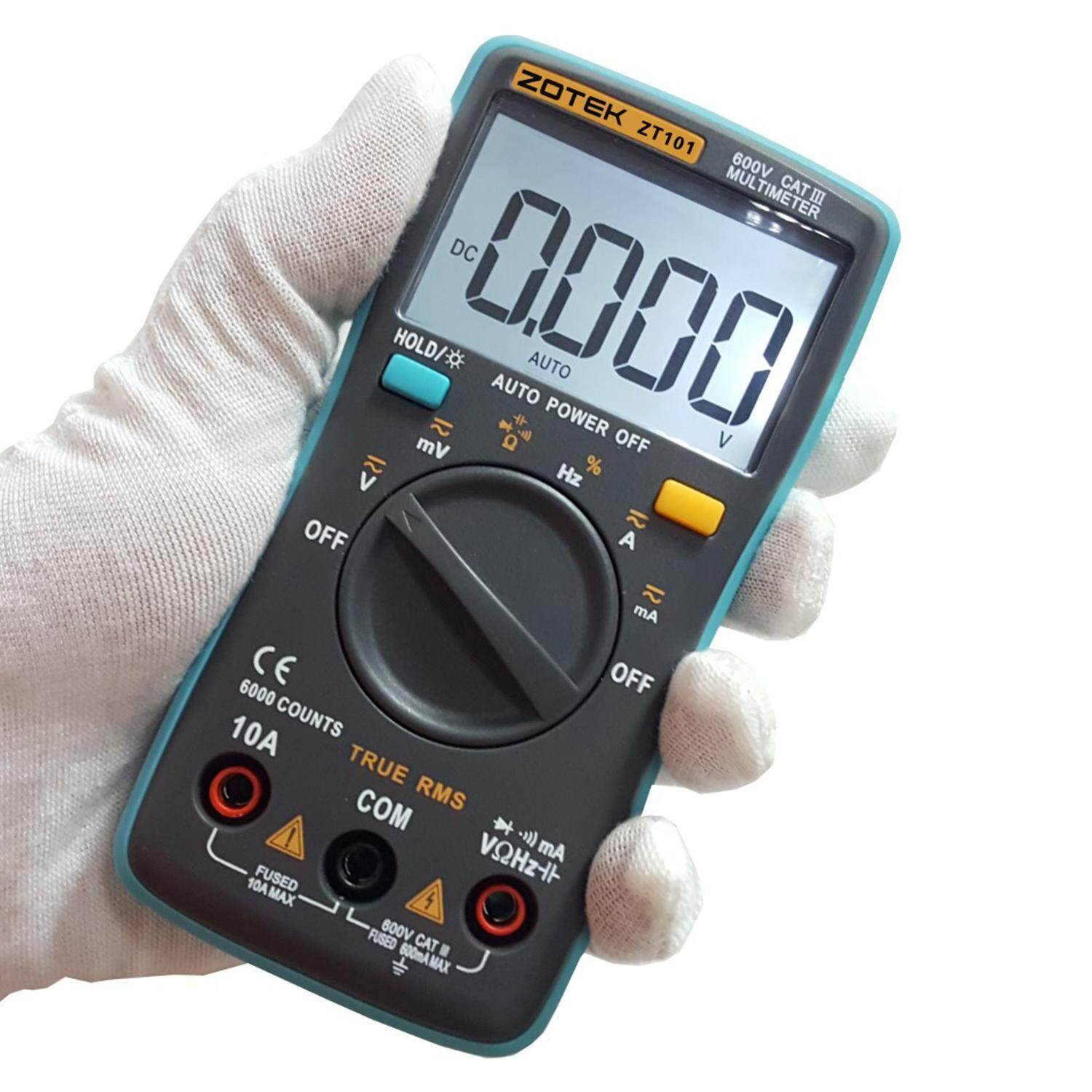 it is an Auto-ranging digital multimeter with integral style double A / D transformation as the core, It can be used for measures AC / DC voltage, ...