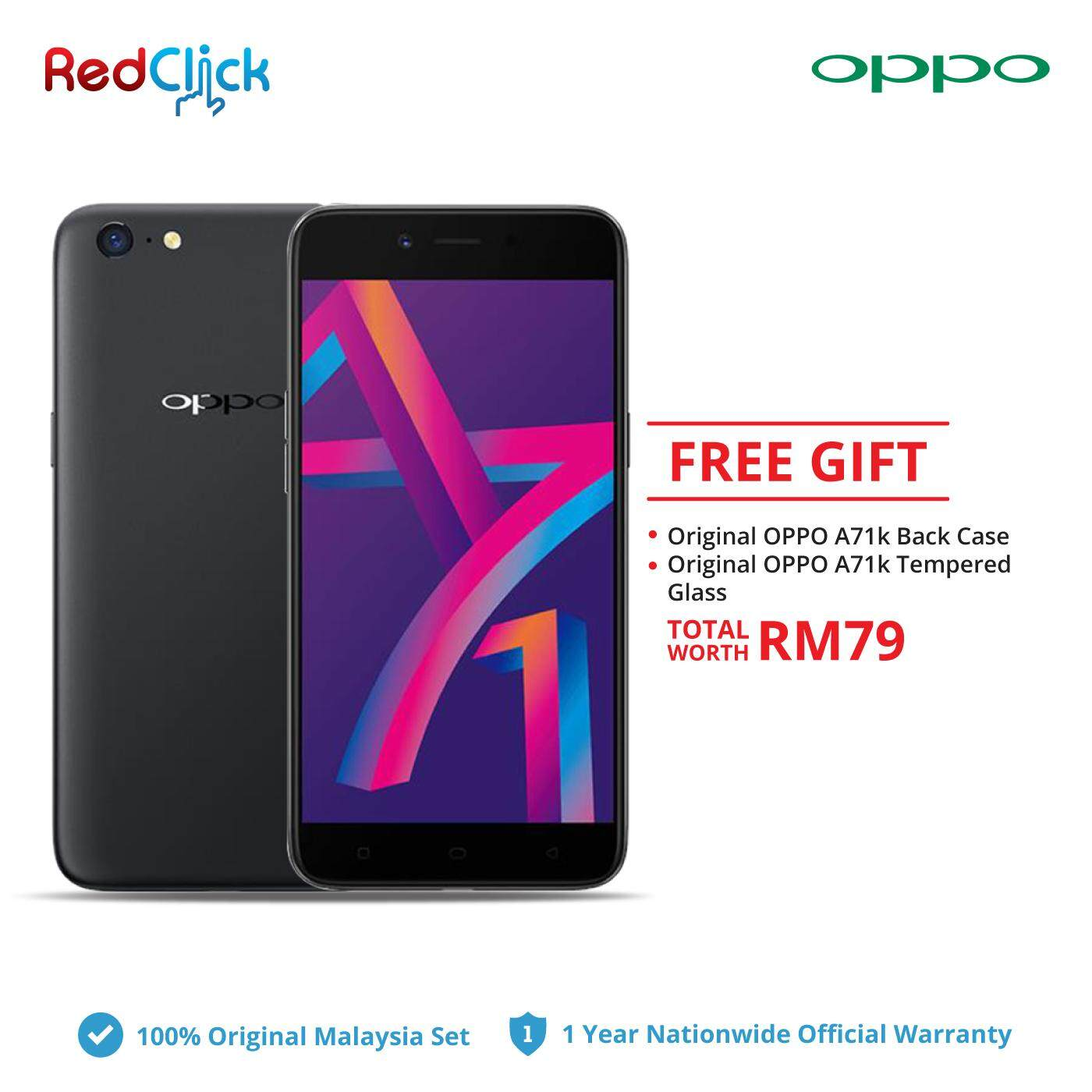 Oppo A71k Cph1801 2gb 16gb 2 Free Gift Worth Rm 79 Malaysia A3s