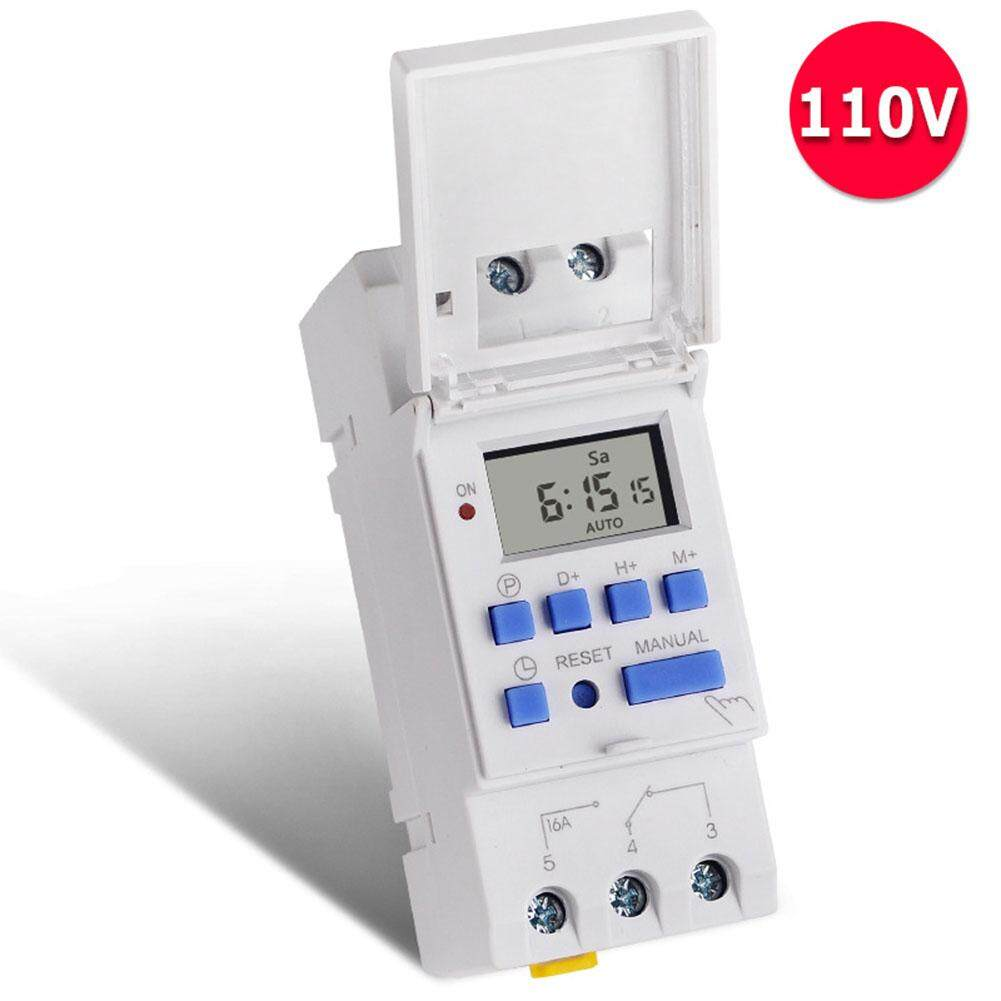 MG 16A 110VAC Timer Switch Environmental Protection Accurate Sensitive Time Controller