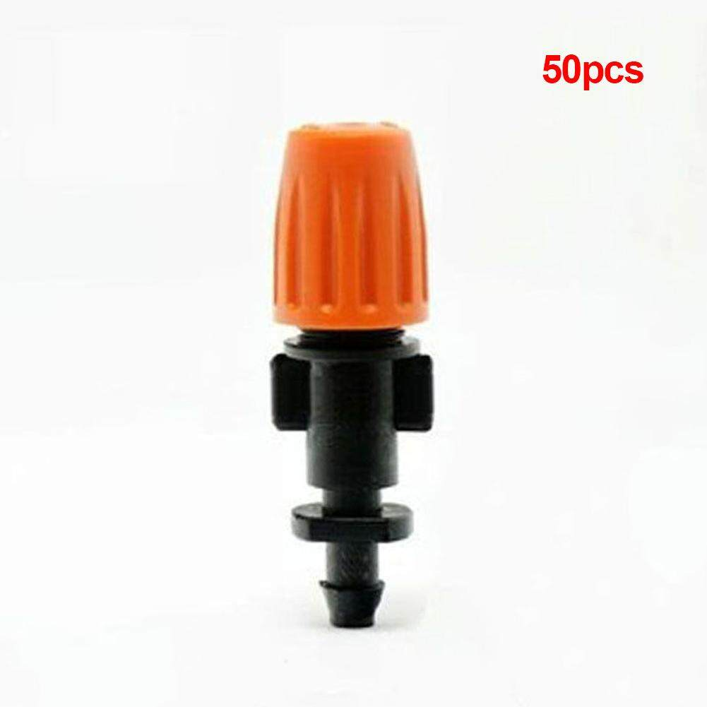 50PCS Dripper Head Water Tools Misting Micro Sprayer Sprinklers Irrigation Drip System Lawn Garden Spray Head
