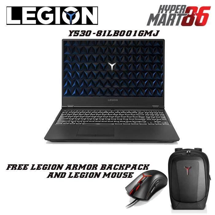Lenovo Legion Y530-15ICH 81LB001GMJ Gaming Notebook (15.6inch/Intel I7/8GB/1TB+256GB SSD/GTX1060 6GB) Malaysia
