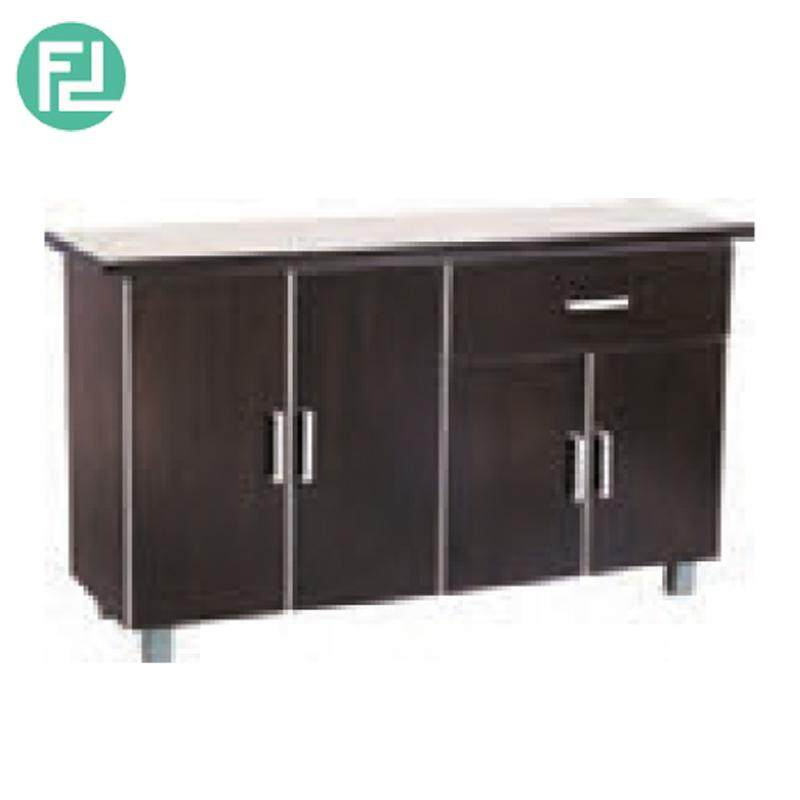 Furniture Direct Rosewood Kitchen Cabinet 1 Drawer 4 Door