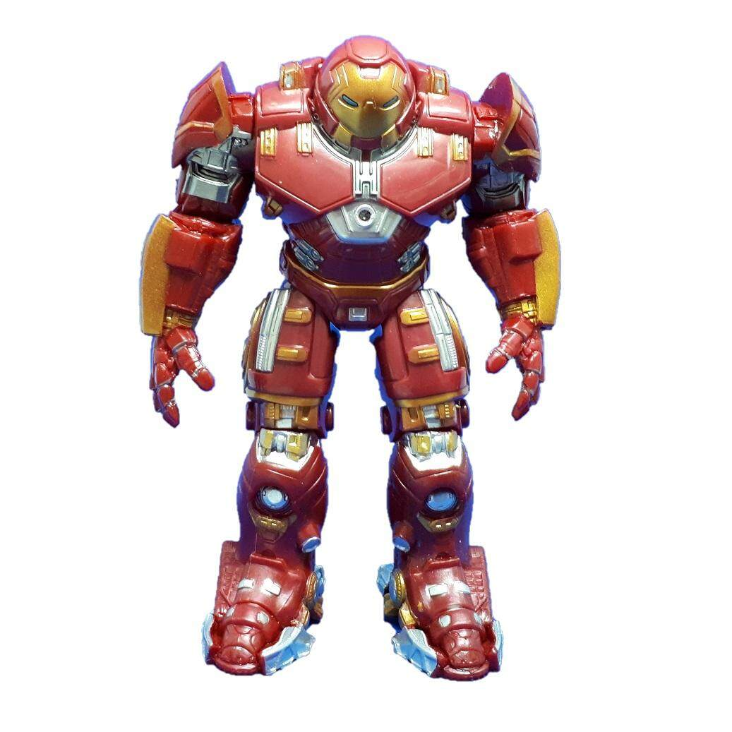 Legend Toys Station Hulkbuster Ant Man Captain America Hulk Iron Man SpiderMan Black Panther Falcon Vision The Avengers Action Figure & Collectibles Movable Joints Decoration Toys LED light / Cake Topper