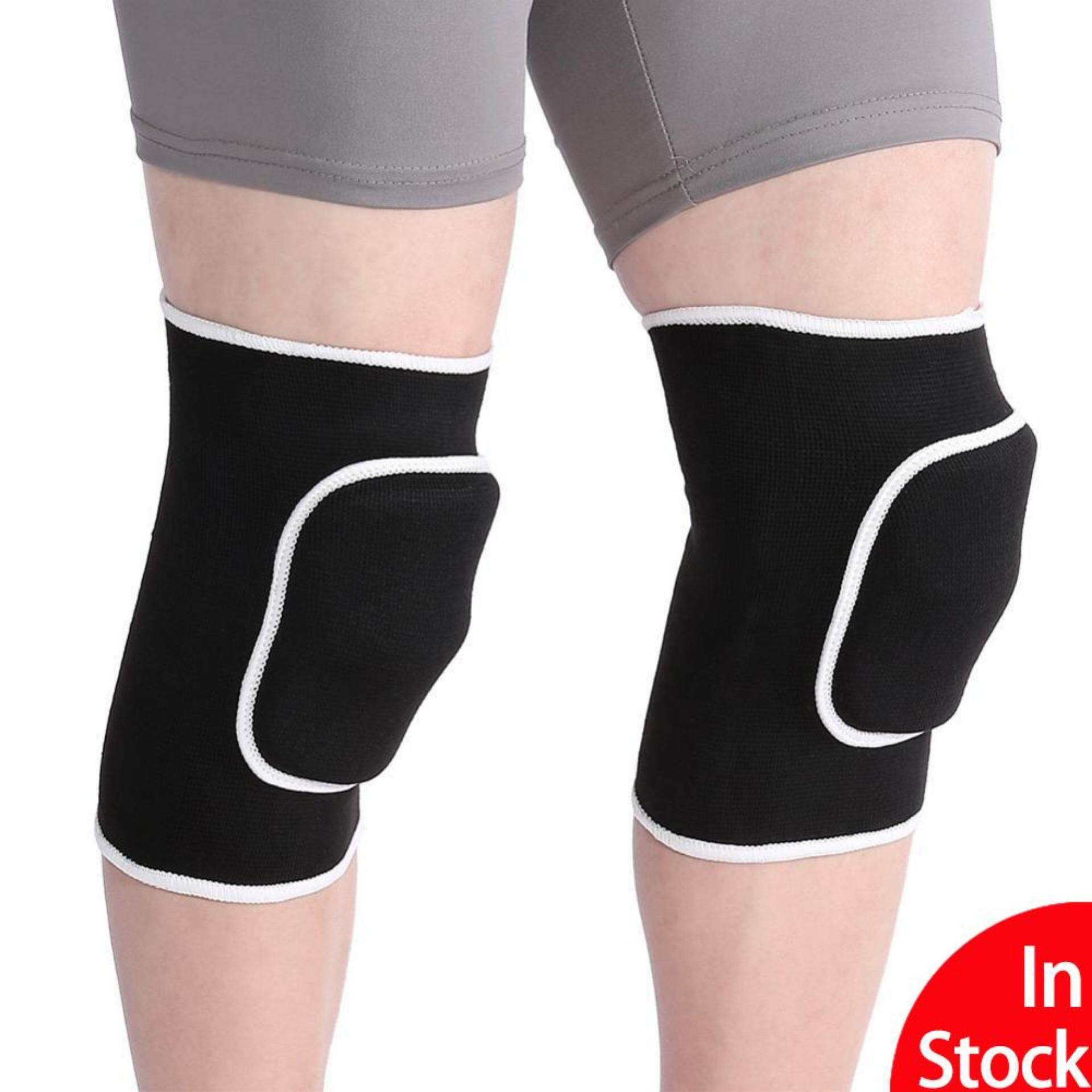 c0bafb6708 2pcs Sports Patella Support Belt Volleyball Soccer Basketball Knee Pad  Fitness Knee Protector