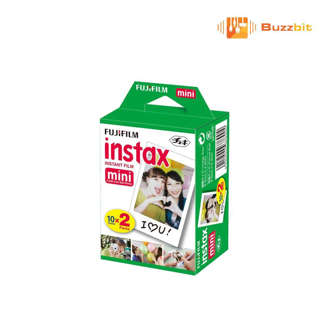Fujifilm Instax Mini Plain Film 20pcs By Buzzbit.