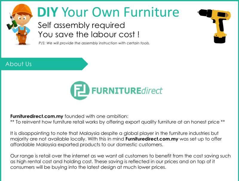 Furniture Direct Somerset 1 2 3 Wooden Sofa Set 4 Colors Lazada