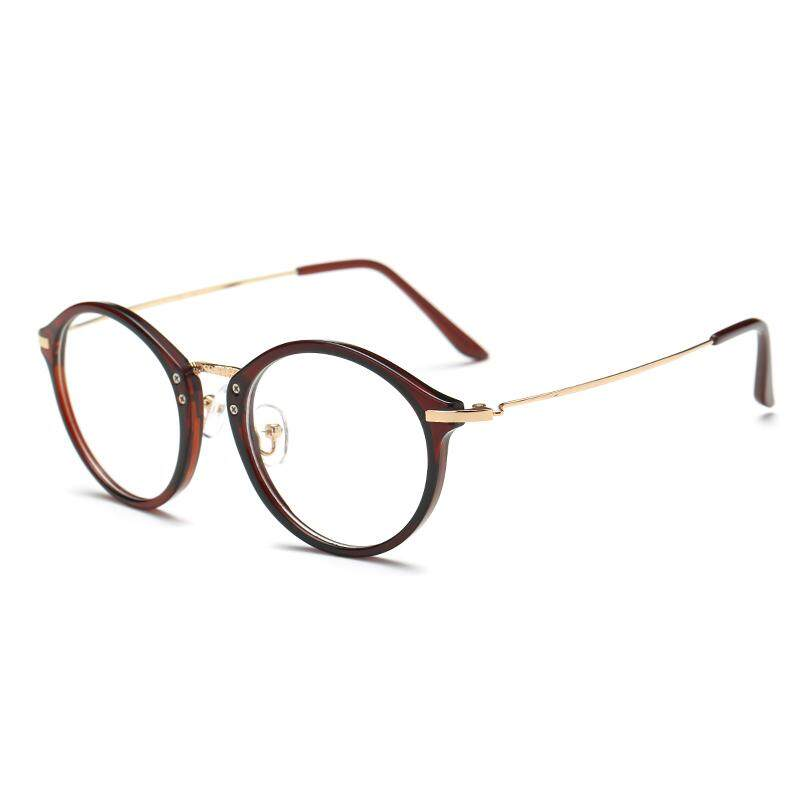cd38247df4f Glasses Frame Female Korean Style Fashion round Face Vintage with Alcohol  by Volume Myopia Finished Product