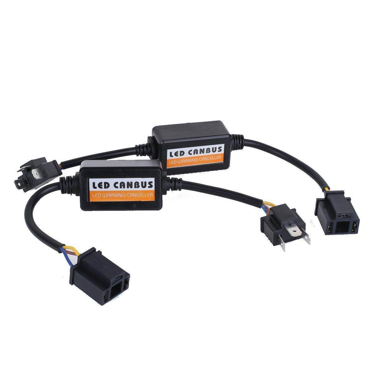 Automotive Accessories 5 Buy At Best Wiring Fog Lamp Exora Redcolourful 2pcs Car H4 Warning Error Decoder Canceller Capacitor Anti Flicker Led Headlight Harness