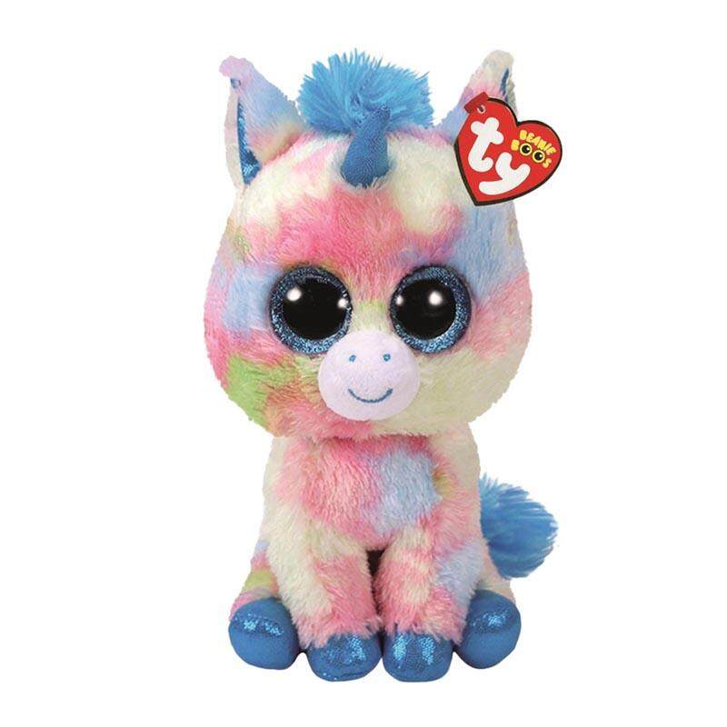 a443d721ef5 Ty Beanie Boos Stuffed   Plush Animals Ice Cream Color Unicorn Toy Doll 6