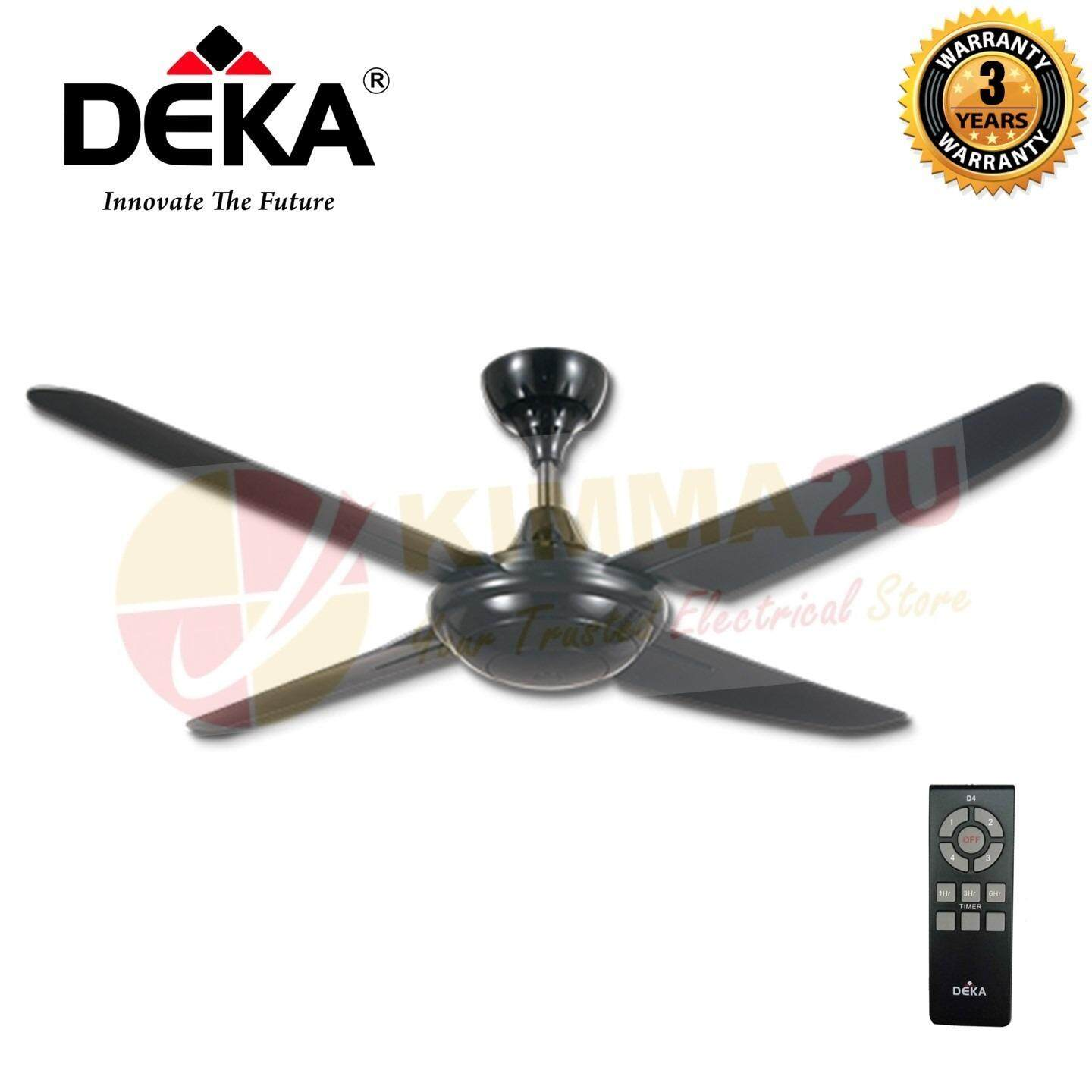 Kronos Deka F5 4p Ceiling Fan With Remote Control New Model