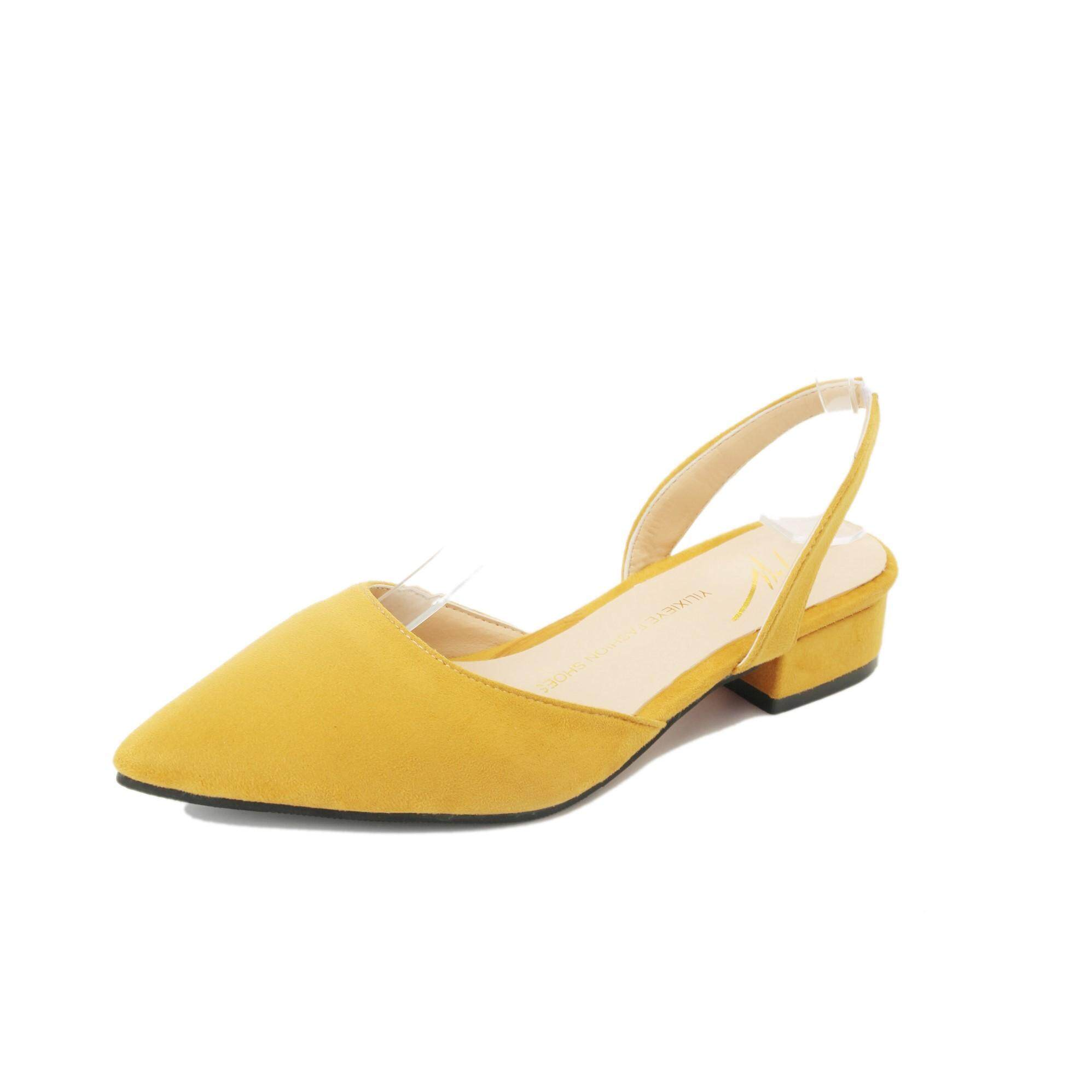 Ladies Shoes For The Best Price In Malaysia Baby Heels Sepatu Anak Red Rose Plain Heeled Sandals