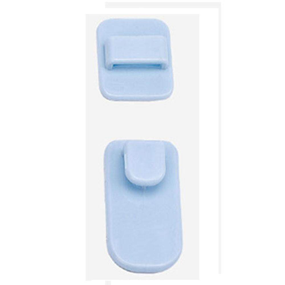 Plastic Hook 2pair Sticky Hook TV Air Conditioner Remote Control Strong Hanger T