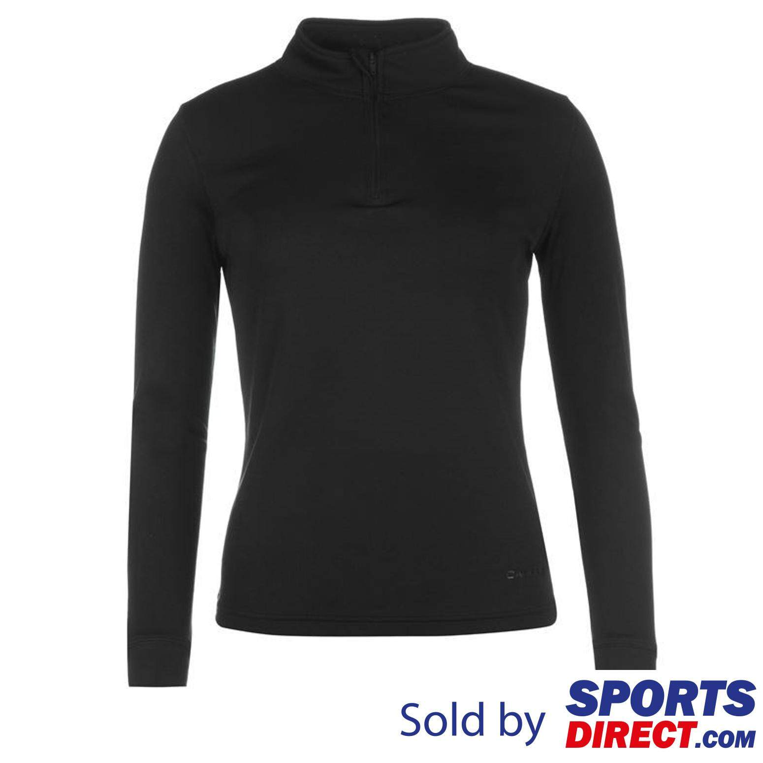 Campri Womens Thermal Zip Top (black) By Sports Direct Mst Sdn Bhd.