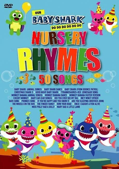 Baby Shark Nursery Rhymes 50 Songs By Ccjv69.