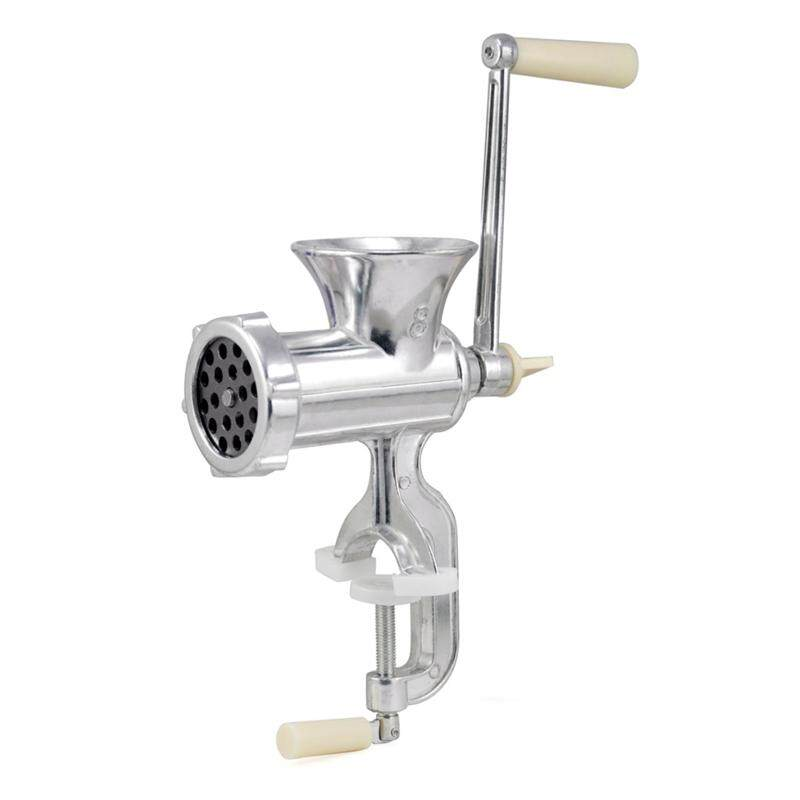 Retro Hand Operated Manual Kitchen Clamp Grinder Meat Mincer Maker Beef Sausage By Tobbehere.