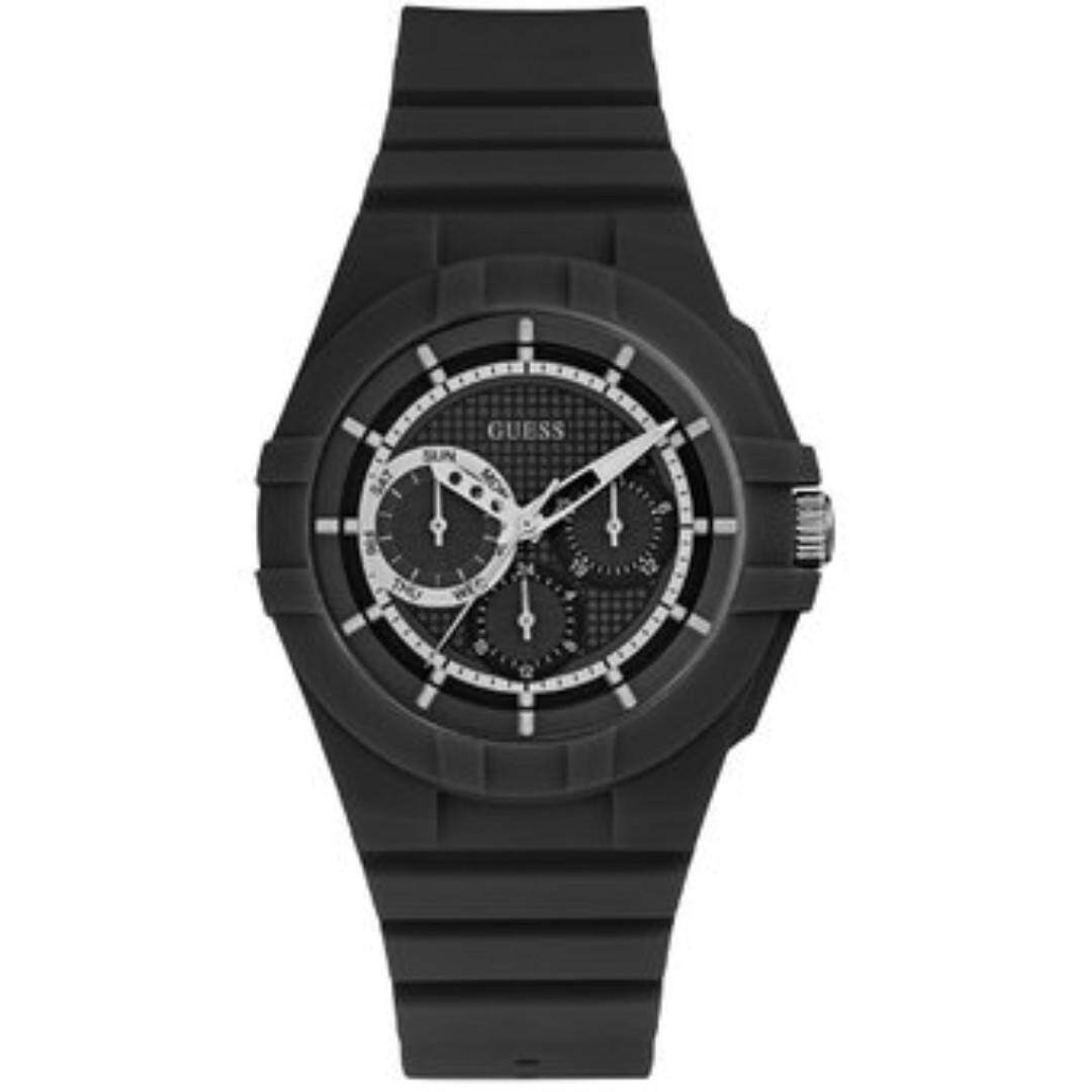 GUESS Unisex Black W0942L2 Watch 42mm