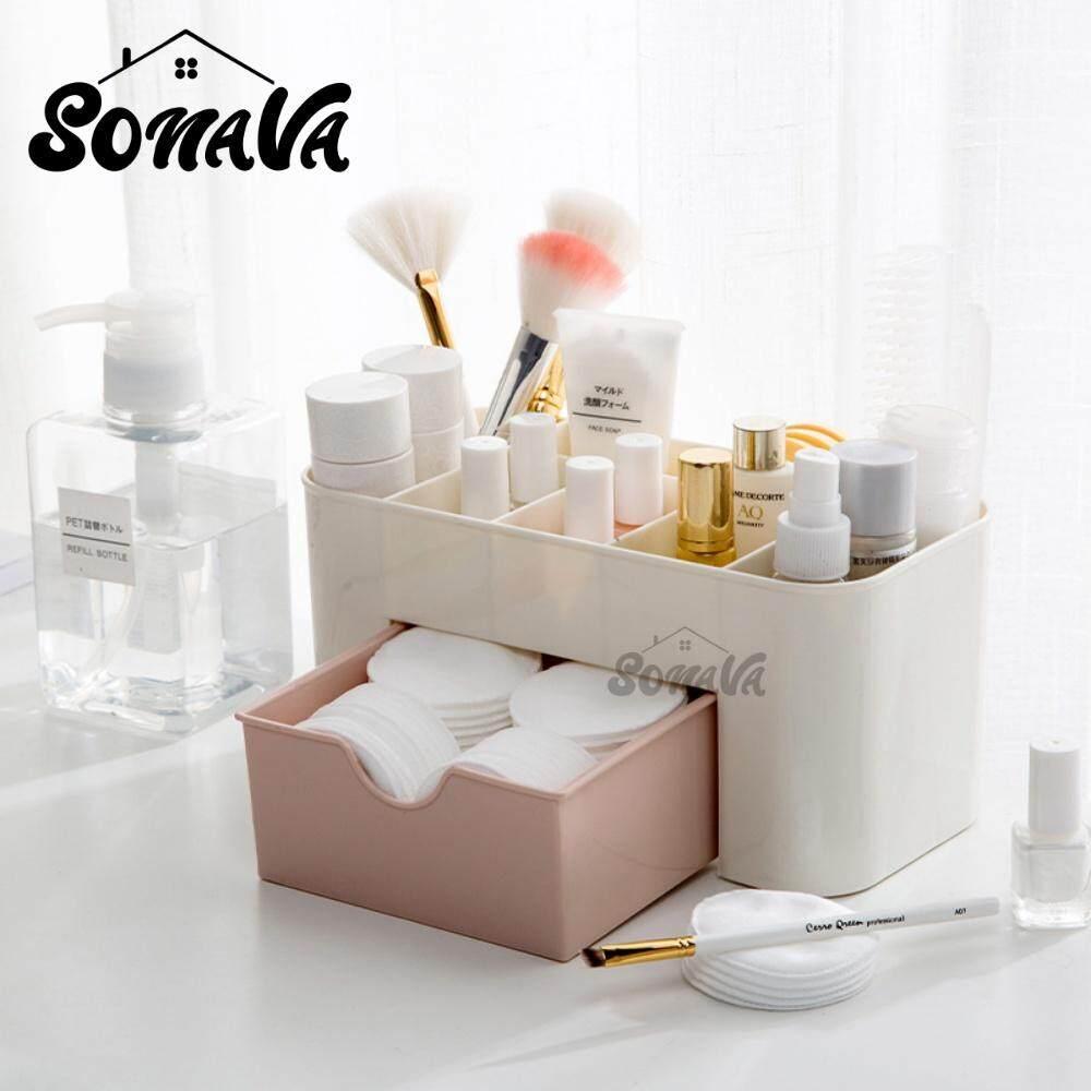 Sonava Cosmetic Makeup Office Drawer Storage Organizer Box