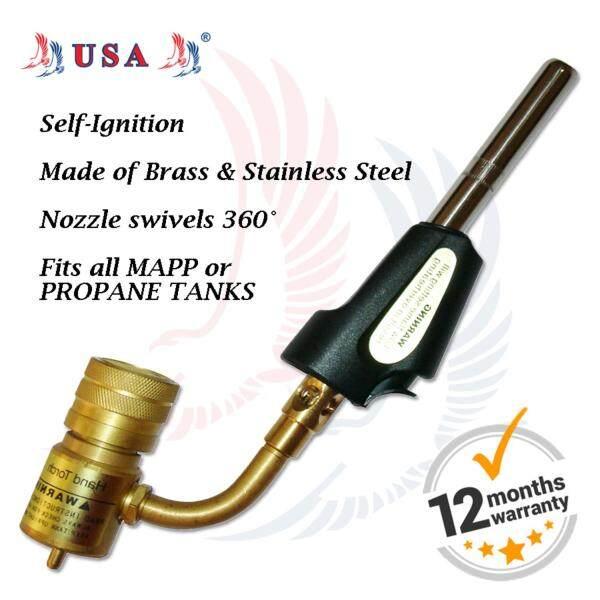 USA MAPP / Propane Self Ignition Welding, Soldering & Brazing Torch 207ST