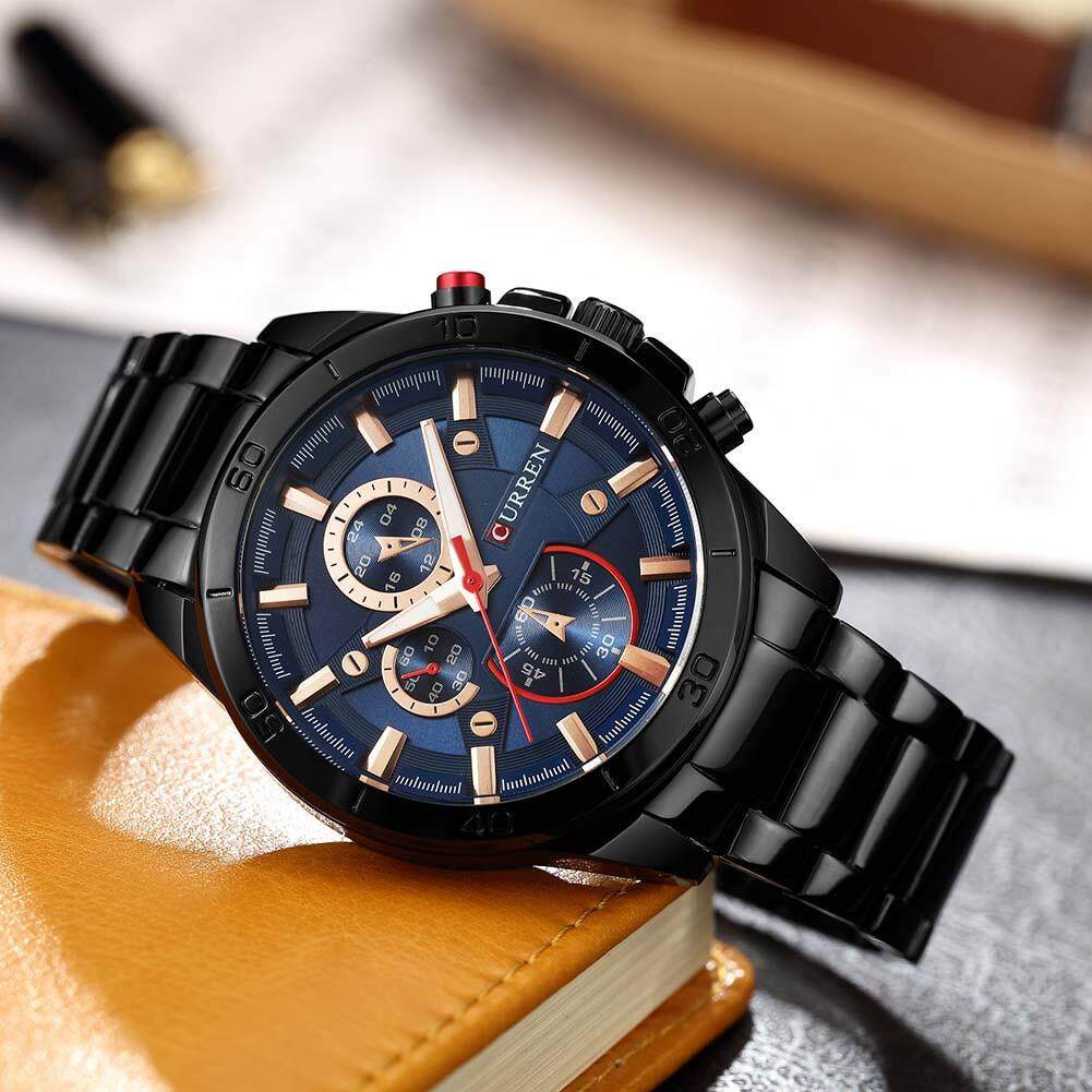 Curren 8275 top brand luxury Watch Men quartz watch fashion casual alloy wristwatches Malaysia